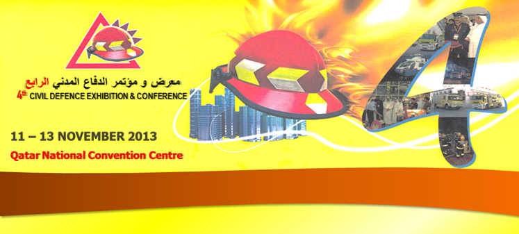 4th Civil Defence Exhibition & Conference 2013 - Qatar